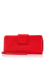 FOSSIL SWL1575622 Madison Zip Clutch Real Red