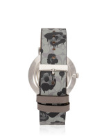 COACH 14503248 Perry Printed Leather Strap Grey