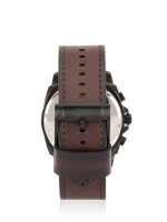 FOSSIL Men BQ2380 Privateer Chronograph Leather Strap Brown