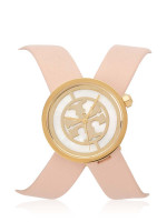 TORY BURCH TBW4030 Reva Double Wrap Strap Soft Pink