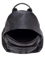 SALVATORE FERRAGAMO Leather Backpack Black