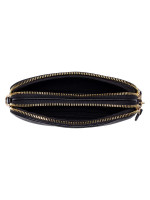COACH 72490 Pebbled Leather Chain Crossbody Black