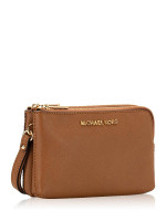 MICHAEL KORS Jet Set Travel Double Gusset Wristlet Luggage