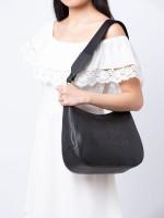 COACH 72702 Jes Leather Hobo Black