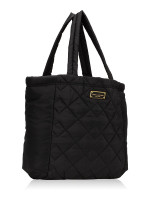 MARC JACOBS Quilted Nylon Tote Black