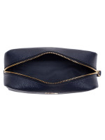 COACH 24797 Crossgrain Leather Cosmetic Case 20 Midnight