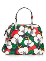 KATE SPADE Maise Breezy Floral Medium Dome Satchel Multi