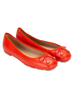 TORY BURCH Laila Driver Leather Flats Samba Sz 8