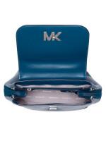 MICHAEL KORS Mott Medium Leather Backpack Luxe Teal