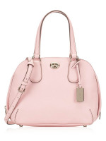 COACH 34940 Crossgrain Mini Prince Satchel Petal