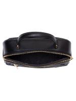 MICHAEL KORS Travel Monogram Top Handle Camera Bag Black