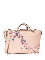 BALLY Supra Saffiano Bowling Bag Blush