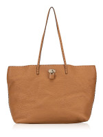 FENDI Selleria Leather Medium Carla Tote Brown