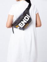 FENDI Mania Belt Bag FF Black