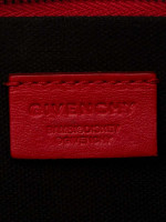 GIVENCHY Bambi Printed Large Pouch Red