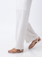 TORY BURCH Minnie Travel Sandal Rosegold Sz 6.5