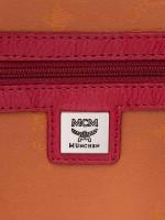 MCM Stark Tibetan Medium Backpack Red