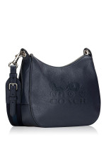 COACH 72702 Jes Leather Hobo Midnight