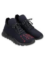 FENDI Men /Fiend Running Sneakers Black Sz 41