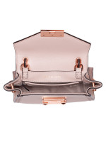 MICHAEL KORS Whitney Leather Mini Messenger Soft Pink