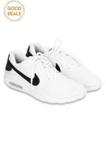 NIKE Air Max Oketo Sneaker White Black Sz 8