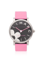 MARC JACOBS MJ1622 Classic Daisy Rubber Strap Black Pink