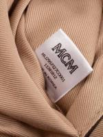 MCM Visetos Fursten Belt Bag Cognac