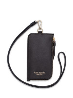 KATE SPADE Cameron Card Case Lanyard Black