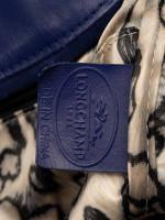 LONGCHAMP Gatsby Exotic Leather Satchel Blue