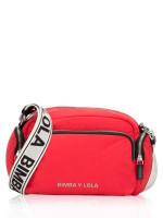 BIMBA Y LOLA Padded Pocket Crossbody Red