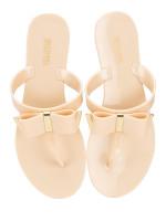 MICHAEL KORS Kayden Thong Sandals Nude Sz 6