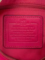 COACH 37018 Chelsea Leather Crossbody Cerise