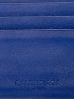 BALENCIAGA Men Classic Square Wallet Blue