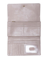 FOSSIL SL7833263 Logan Flap Wallet Taupe