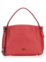 COACH 24947 Clarkson Leather Hobo Washed Red