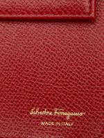 SALVATORE FERRAGAMO Vara Wallet On Chain Rosso Red