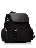 MICHAEL KORS Abbey Nylon Medium Cargo Backpack Black