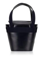 SALVATORE FERRAGAMO Vara Mini Bucket Bag Dark Navy