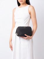 TUMI Lesley Nylon Double Zip Cosmetic Case Black