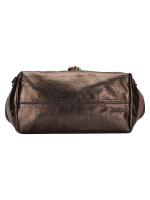 CHLOE Kerala Leather Shoulder Bag Bronze