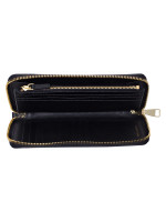 TORY BURCH Emerson Zip Passport Continental Walllet Black