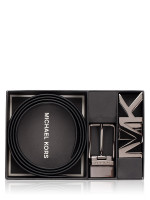 MICHAEL KORS Men 4 In 1 Signature Belt Box Set Black Multi