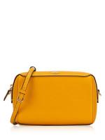 COACH 76629 Crossgrain Mini Bennett Crossbody Mustard Yellow