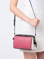 COACH 77685 Colorblock Mini Bennet Crossbody Rouge Multi