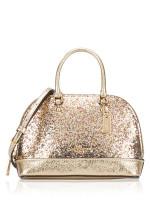COACH 39497 Micro Glitter Mini Sierra Gold