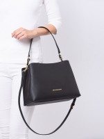 MICHAEL KORS Sofia Large Saffiano Satchel Black
