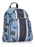 MICHAEL KORS Abbey Medium Butterflies Backpack Sapphire