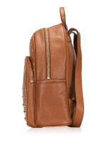 MICHAEL KORS Abbey Studded Leather Medium Backpack Luggage