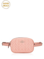 COACH 38678 Quilted Leather Belt Bag Petal