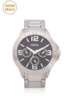 FOSSIL Men BQ2296 Modern Century Chronograph Stainless Silver